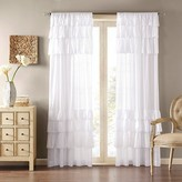 "Nobrand No Brand Ariana Anna Oversized Ruffle Curtain Panel - White (50""x84"")"