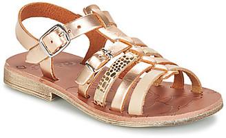 GBB BANGKOK girls's Sandals in Gold