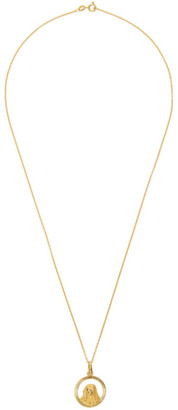 Dear Letterman SSENSE Exclusive Gold Naia Necklace