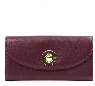 Coccinelle Jalouse Plum Leather Wallet
