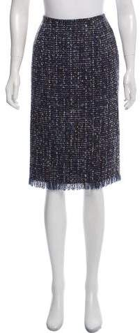 148 Bouclé Knee-Length Skirt w- Tags