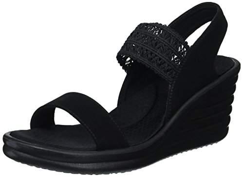 Skechers Footsteps Black Skechers Markers Black Footsteps Sandal Markers y7b6Ygfv