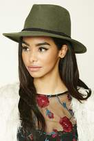 Forever 21 Braided Wool Fedora