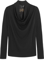 Vivienne Westwood Fold Wool Top - Black