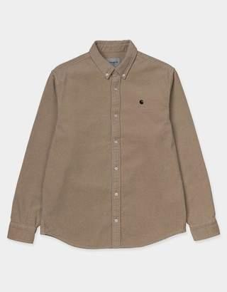 Carhartt Wip WIP - Madison Shirt in Corduroy Stone
