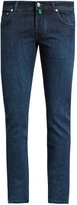 Jacob CohËn Tailored Slim-leg Stretch-denim Jeans