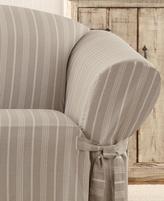Sure Fit Grainsack Stripe Sofa Slipcover