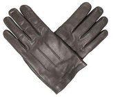 Gucci Embossed Leather Gloves w/ Tags