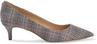 Sam Edelman Dori Prince Of Wales Checked Woven Pumps