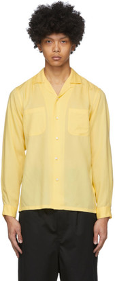 Blue Blue Japan Yellow Lyocell Two-Pocket Shirt