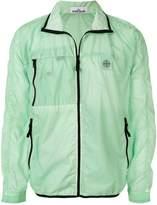 Stone Island contrast trim jacket