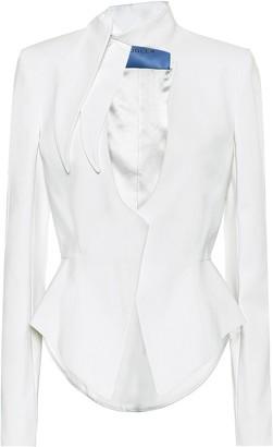 Thierry Mugler Cotton-blend blazer