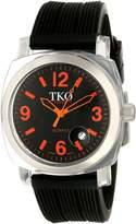 TKO ORLOGI Women's TK549-OB Unisex Milano Remixed Black Strap Watch