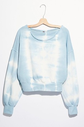 Free People Washed Jojo Pullover