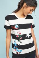 Cynthia Rowley Teagan Embroidered Tee