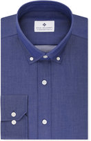 Ryan Seacrest Distinction Men's Slim-Fit Non-Iron Indigo Dress Shirt, Only at Macy's