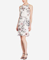 American Living Floral-Print Georgette Dress