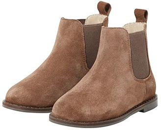 Janie and Jack Chelsea Boots (Toddler/Little Kid/Big Kid) (Brown) Boys Shoes
