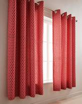Fashion World Boston Eyelet Lined Curtains