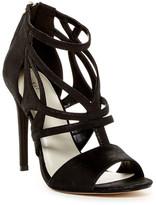 Karen Millen Pearlised Leather Stiletto Sandal