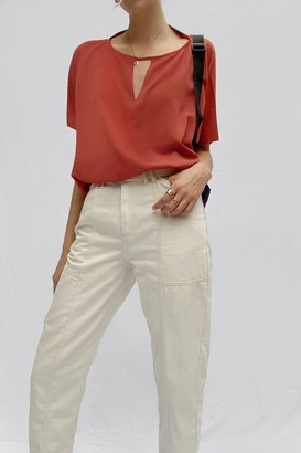 French Connection Alicia Light Short Sleeve Top