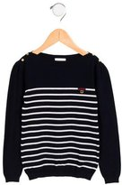 Gucci Girls' Web-Embellished Sweater