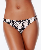 Bikini Nation Pickin' Petals Printed Strappy Cheeky Hipster Bottoms