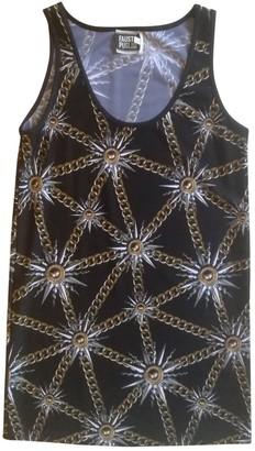 Fausto Puglisi Black Synthetic Dresses