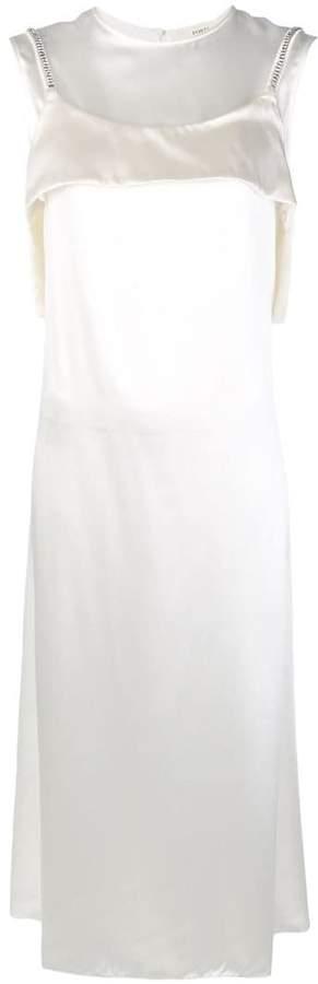 Ports 1961 layered slip dress