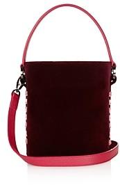 Meli-Melo Santina Mini Velvet Bucket Bag