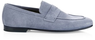 Dunhill Chiltern Soft Suede Loafers