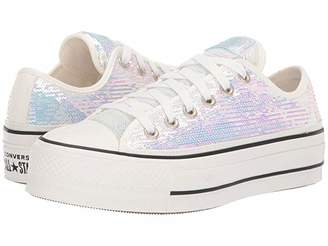 Converse Chuck Taylor All Star Lift Ox - Northern Lights (Silver/Vintage/White/Black) Women's Classic Shoes