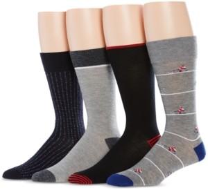 Perry Ellis Men's 4-Pk. Santa Skiing Socks