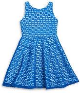Sally Miller Girls 7-16 Textured Knit Dress