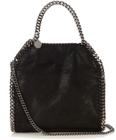 Stella McCartney Falabella faux-suede mini cross-body bag