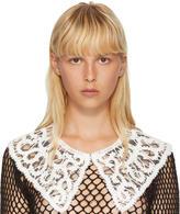 Junya Watanabe White Lace Collar