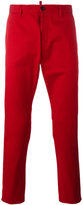 DSQUARED2 classic tapered chinos - men - Cotton/Spandex/Elastane - 50