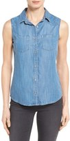 Mavi Jeans Women's 'Alena' Sleeveless Tencel Denim Shirt