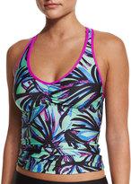 Next Power Thru Printed Tankini Swim Top