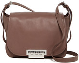 Zac Posen Eartha Iconic Leather Saddle Bag