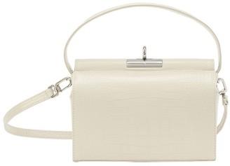 Gu De Milky shoulder bag