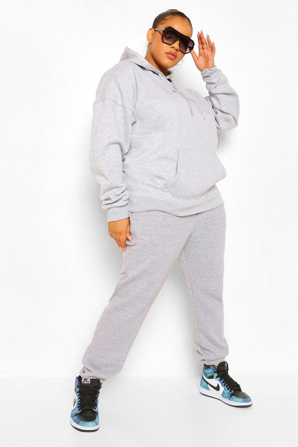 Thumbnail for your product : boohoo Plus Basic Joggers