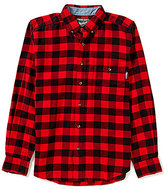 Woolrich Long-Sleeve Trout Run Buffalo Check Flannel Shirt