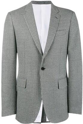 Calvin Klein Fancy Wool Check Blazer