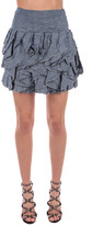 Dondup Ruffled Mini Skirt