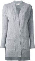 MICHAEL Michael Kors long pocket cardigan - women - Cashmere/Mohair - M