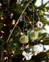 Jim Marvin White & Silver Collection Hanging Pine/Ball Branch