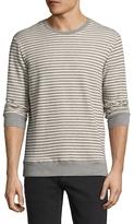 Slate & Stone Crewneck Stripe Sweater