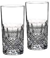 Monique Lhuillier Waterford Crystal Ellypse Highball Glass, Set of 2