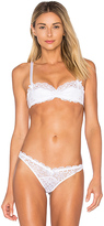 L'Agent by Agent Provocateur Reia Padded Balcony Bra in White